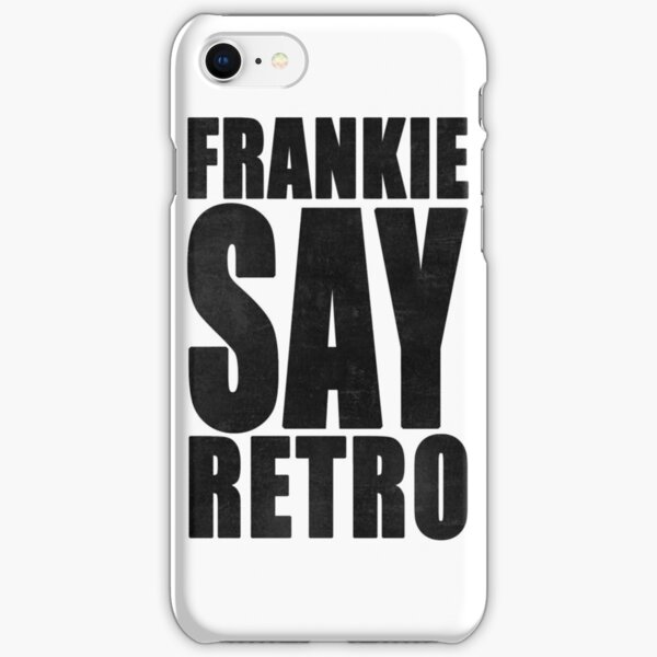 Frankie Say Retro iPhone Snap Case