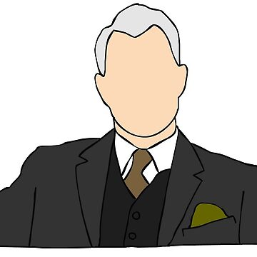 Roger Sterling Mad Men by yowisy