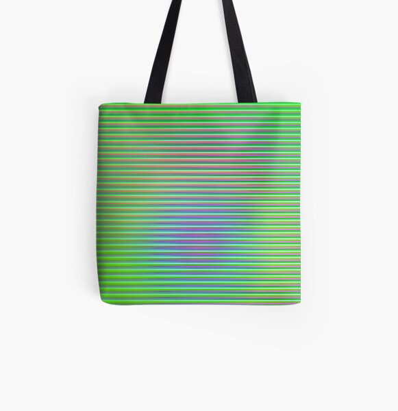 Play with stripes 3 All Over Print Tote Bag