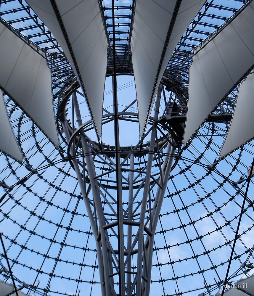 Berlin by windmill