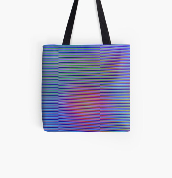 Play with stripes 4 All Over Print Tote Bag