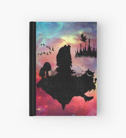 Volver al país de las maravillas Cuaderno de tapa dura