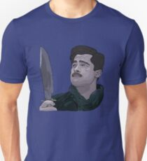Camiseta unisex Inglourious Basterds, Brad Pitt, Aldo Raine