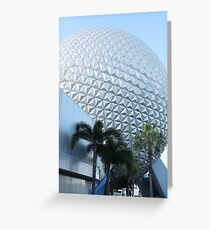 Spaceship Earth Greeting Card