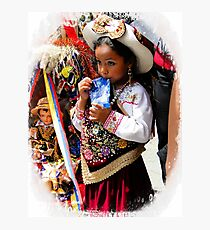Cuenca Kids 924 Photographic Print