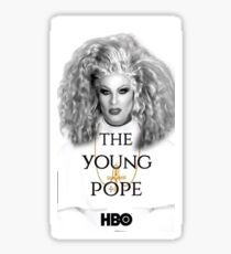 Katya is the YOUNG POPE Sticker