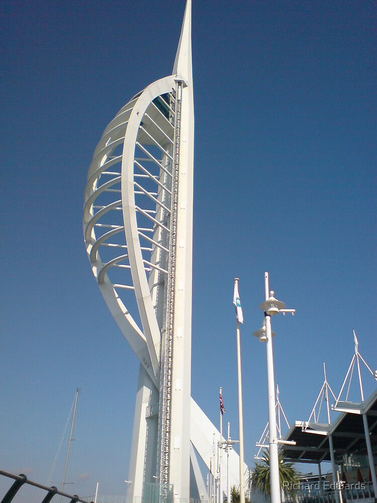 spinnaker tower4 by Richard Edwards