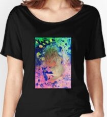 Space girl lost in the universe Women's Relaxed Fit T-Shirt
