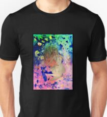 Space girl lost in the universe T-Shirt