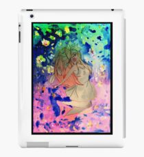 Space girl lost in the universe iPad Case/Skin