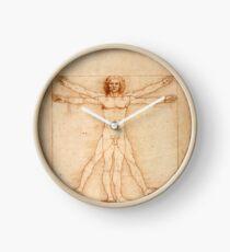 Vitruvian Man, Leonardo da Vinci Clock