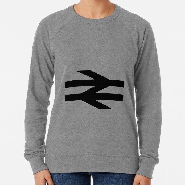 'British Rail Logo' ('Arrows design'). Lightweight Sweatshirt