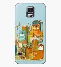 Animals in the Wood Case/Skin for Samsung Galaxy