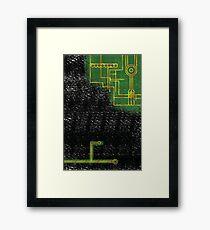 microchip armour Framed Print
