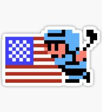 Ice Hockey USA Sticker