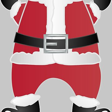 Merry Christmas Happy Holiday Cartoon Santa Claus by lfang77