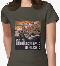 Battlefield 1 Objective Apples Womens Fitted T-Shirt