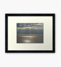 Miami Sunrise Framed Print