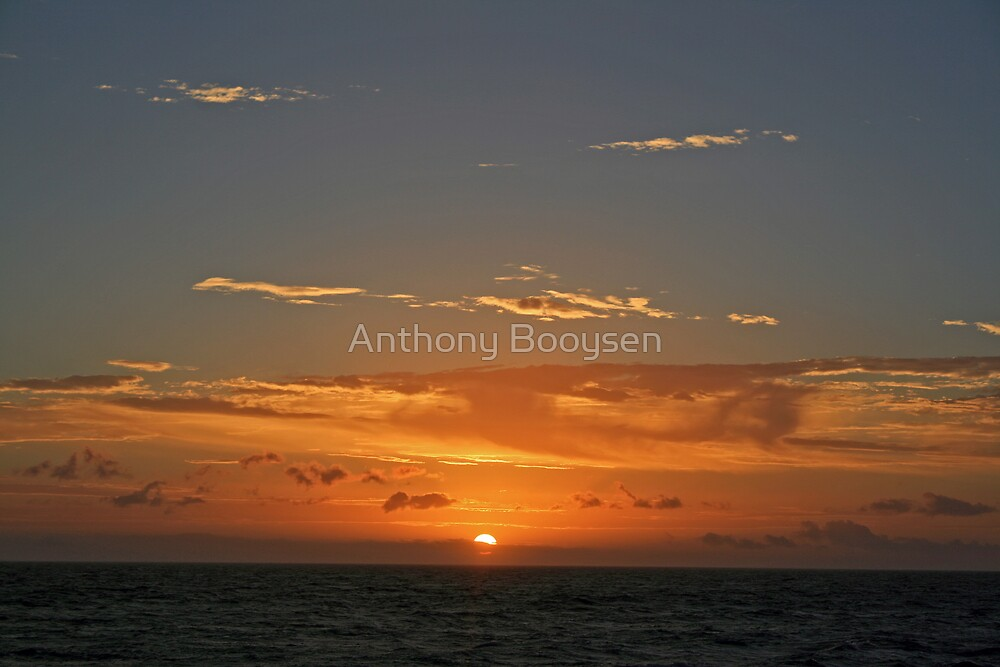 Ocean Sunset by Anthony Booysen