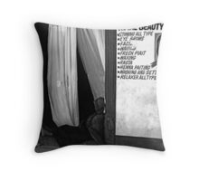 Beauty... Throw Pillow