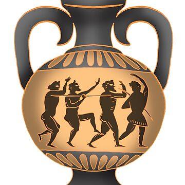 Greek vase by MacKaycartoons
