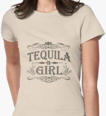 Tequila Girl Women's Fitted T-Shirt