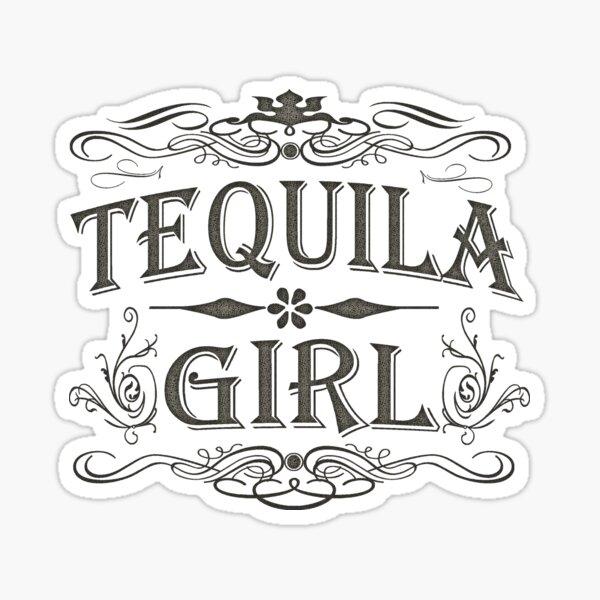 Tequila Girl Sticker