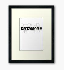 DBA - database administrator Framed Print