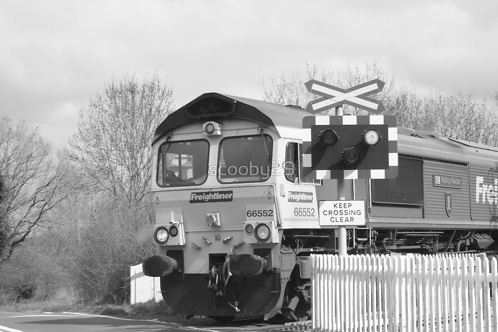 Freight Train by scooby29