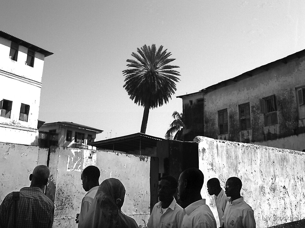 Zanzibar students by Liv Stockley