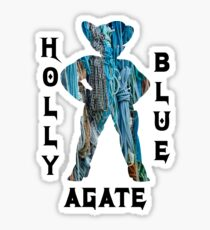 Holly Blue Agate Steven Universe Sticker