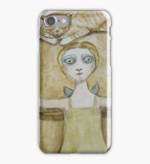 Toms chair and the angel iPhone Case/Skin