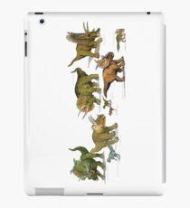 Triceratops and Company iPad Case/Skin