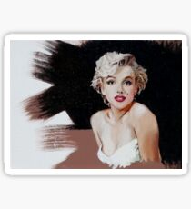 Marilyn Monroe In Oil Sticker