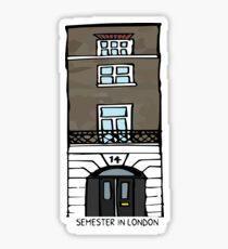 JMU Semester in London  Sticker