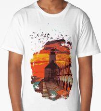 Michigan - St Joseph lighthouse Long T-Shirt