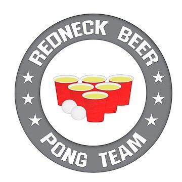 Redneck Beer Pong Team Logo by carolina1