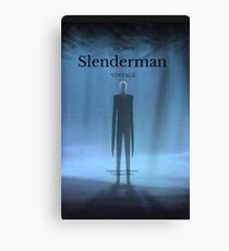 Slenderman Canvas Print
