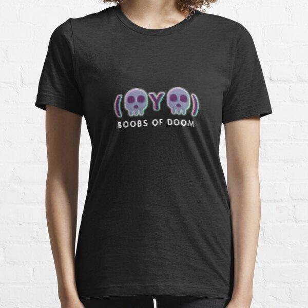 Boobs of DOOM 'twatterskulls' Essential T-Shirt