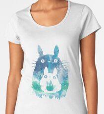 Totoro Women's Premium T-Shirt