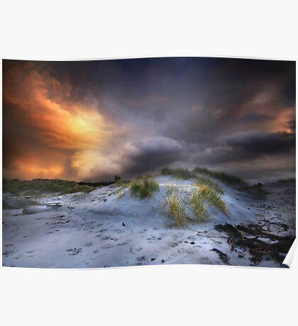 Arisaig Sunset Poster