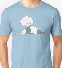 Panda - I'm fine. Slim Fit T-Shirt