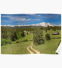 Hills Of Boulder County Colorado Poster