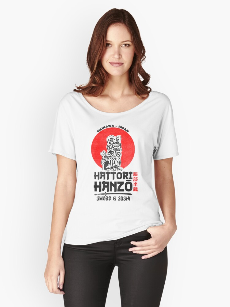 Hattori Hanzo Women's Relaxed Fit T-Shirt Front
