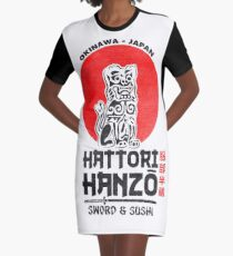 Hattori Hanzo Graphic T-Shirt Dress