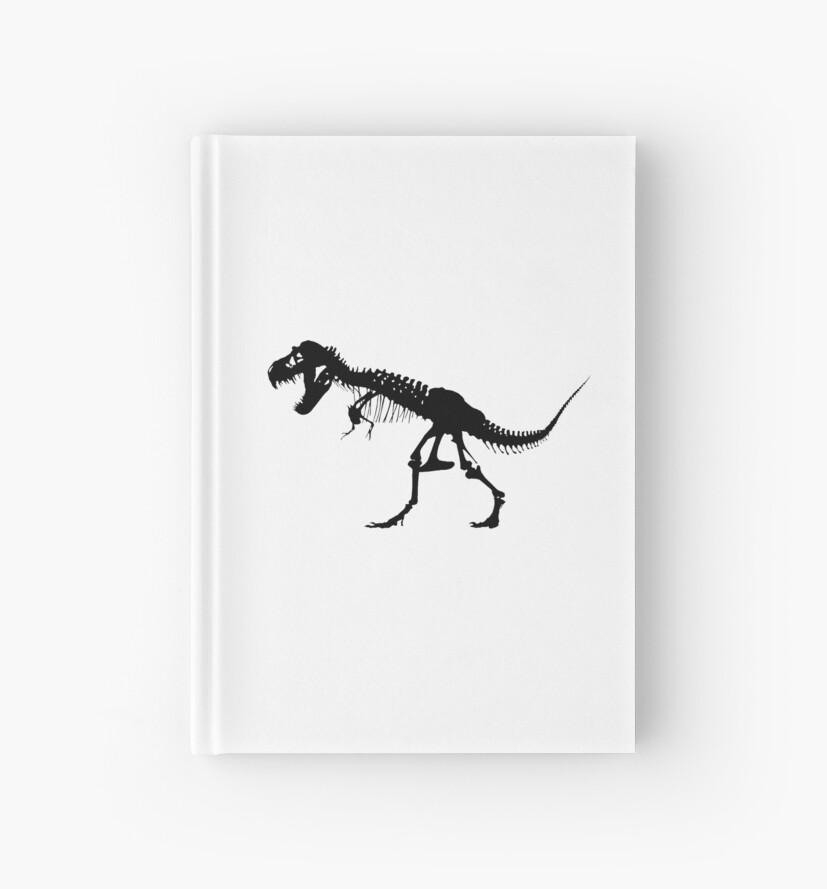 Cuadernos de tapa dura «T REX, ESQUELETO, Tyrannosaurus Rex ...