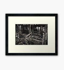 Wool Shed II Framed Print