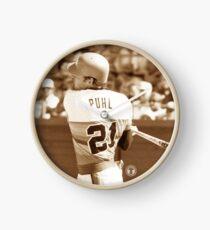 Terry Puhl #21 Clock