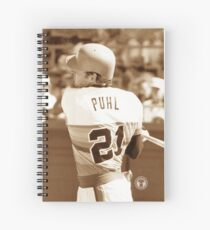 Terry Puhl #21 Spiral Notebook