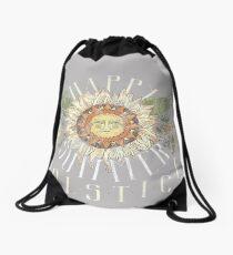 Sunny Summer Solstice Drawstring Bag